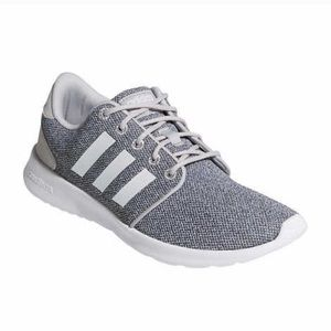 Adidas Cloudfoam Athletic Running Shoes Gray 8.5